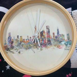 Chicago Themed Clock